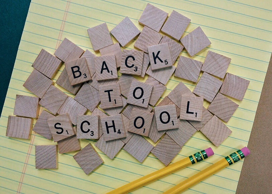 BACK TO SCHOOL SCRABBLE