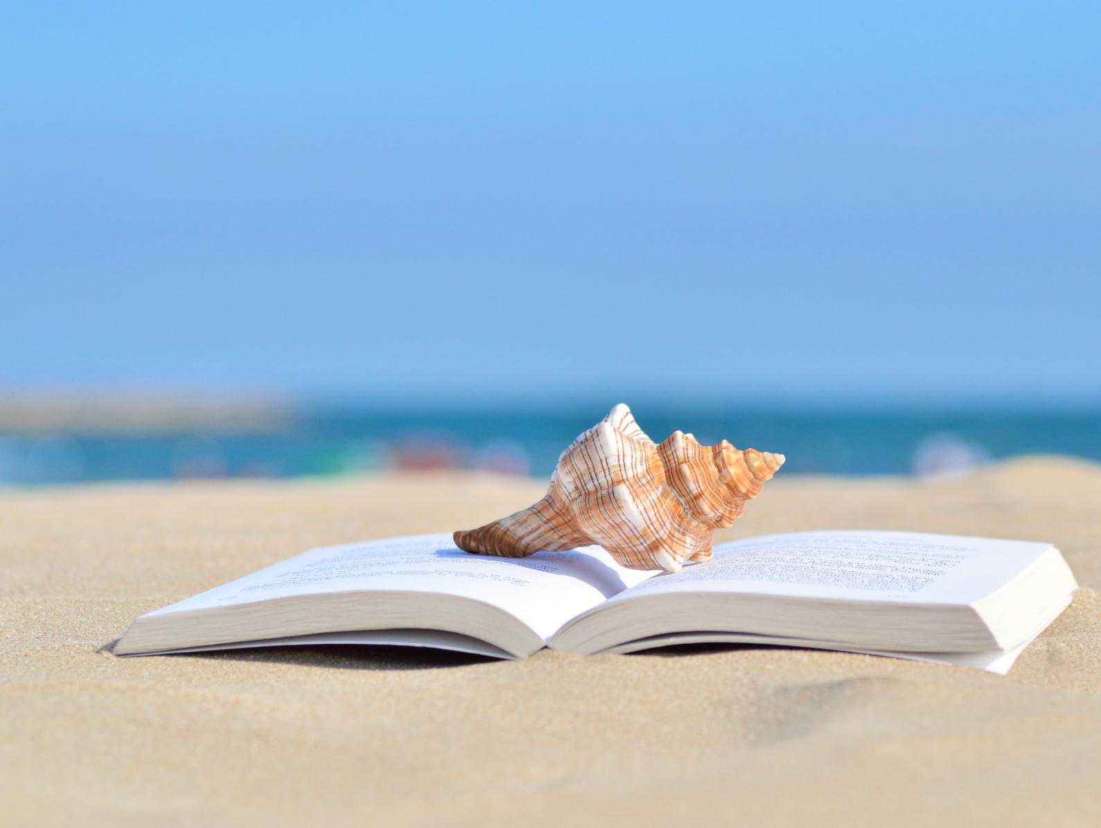 Livre pour l'été à la plage